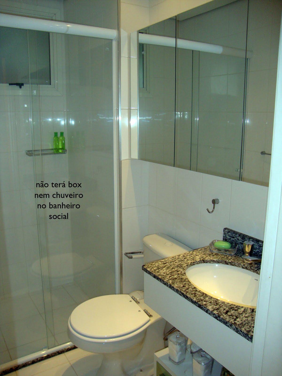 Banheiro Social X Banheiro da Suíte  Comprando Meu Apê -> Banheiro Decorado Social
