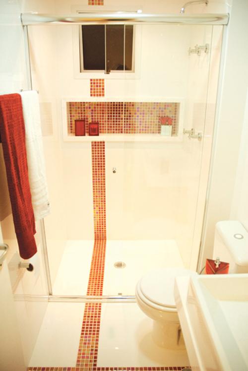 Nichos no Banheiro  Comprando Meu Apê -> Largura Nicho Banheiro