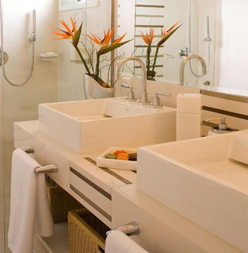 Porcelanato muito além de um simples piso!  Comprando Meu Apê -> Pia De Banheiro Aqualux