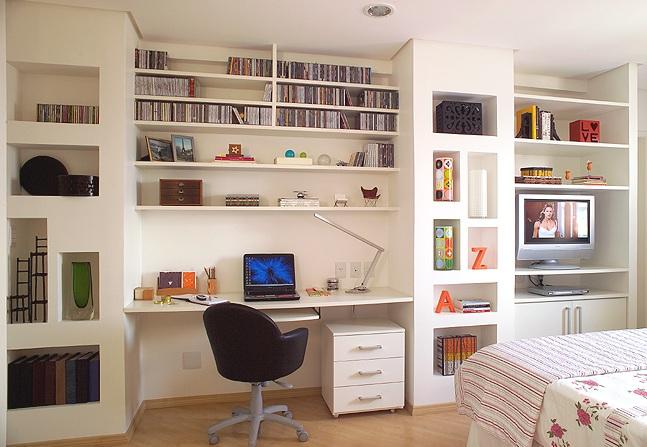 como decorar quartos pequenos comprando meu ap. Black Bedroom Furniture Sets. Home Design Ideas