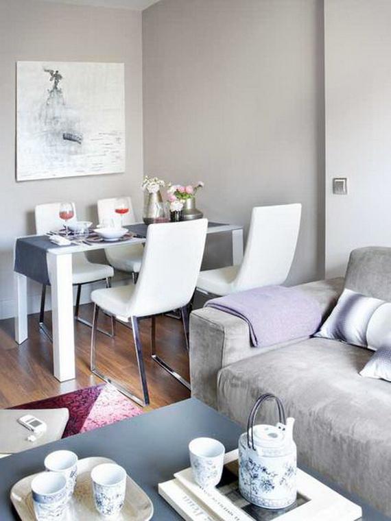 Ideias de decora o para um apartamento de 45 m2 Apartamentos pequenos minimalistas