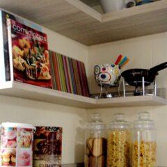 ANTES e DEPOIS da cozinha do leitor do blog!