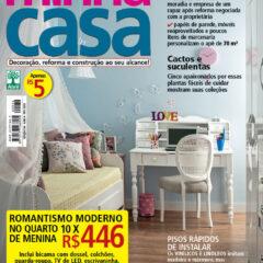 Em primeira mão: Capa da revista Minha Casa de fevereiro!