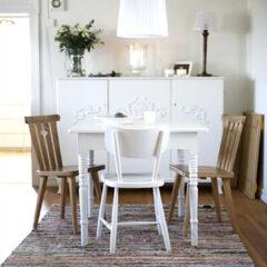 20 salas de jantar para apartamentos pequenos