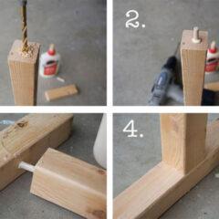 Antes e Depois: Mesa Ikea