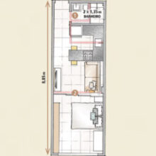 Boas ideias para apartamento pequeno ou quitinete!