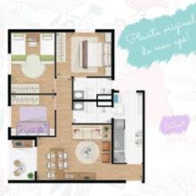Dicas para escolher um apartamento na planta certo pra você!