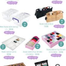 Dicas de produtos para a organização da casa