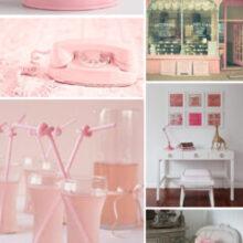Inspiração cor de rosa