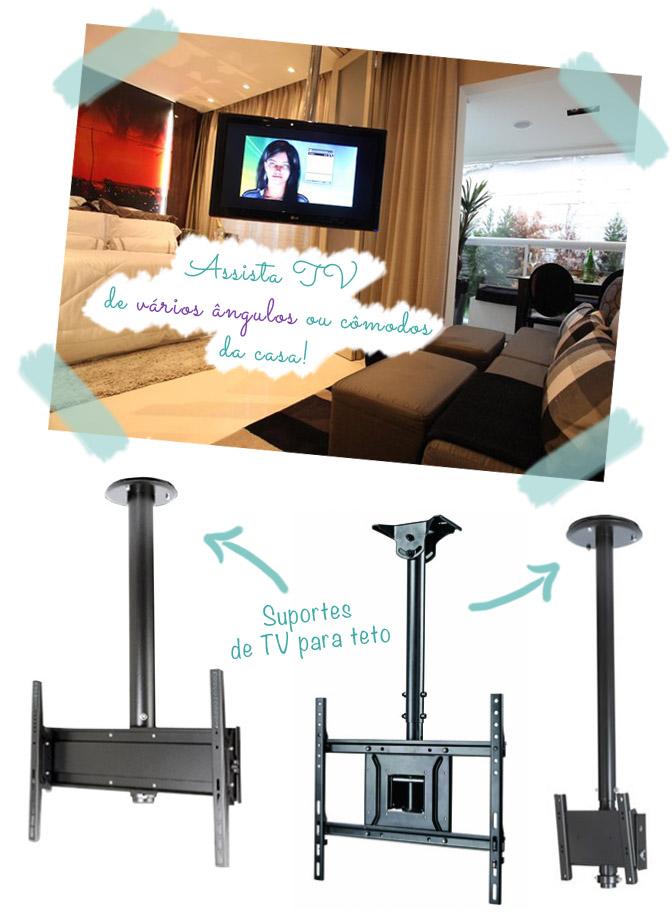 Como Instalar Tv Na Parede Da Sala ~ TV na parede acabe com o problema dos fios aparentes!  Comprando Meu