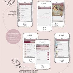 Aplicativo de celular para organizar casamento