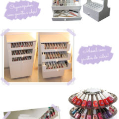Como organizo os meus esmaltes + outras ideias!