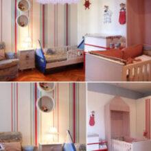 No mesmo quarto: menino + menina ou bebê + criança