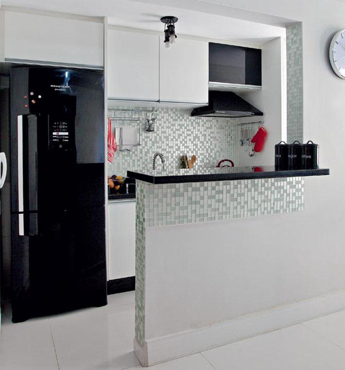 Geladeira Branca ou Inox?  Comprando Meu Apê # Cozinha Pequena Inox Ou Branco