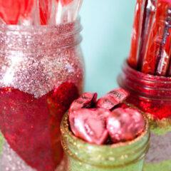 DIY: Vidros com glitter