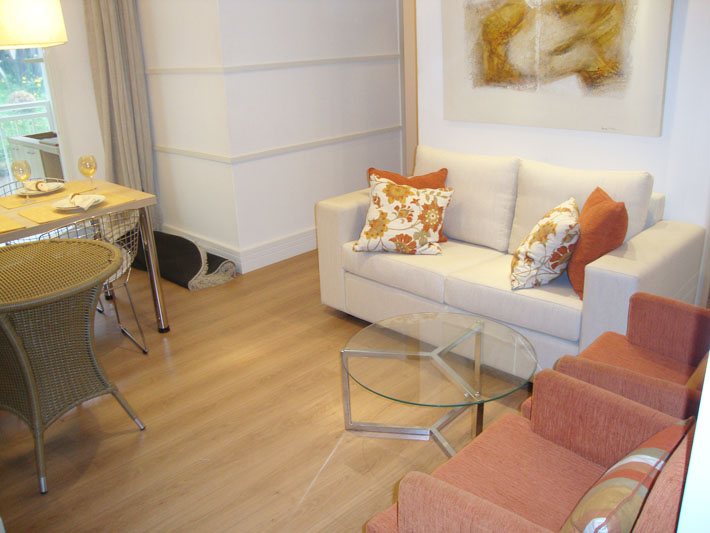 Apartamento de 50m2 decorado decoraao apartamento pequeno for Muebles lira coslada madrid