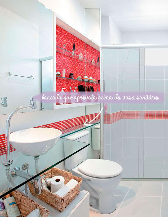 Dicas para banheiros pequenos  Comprando Meu Apê -> Nicho Embaixo Da Janela Banheiro