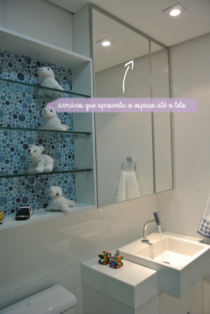 Dicas para banheiros pequenos  Comprando Meu Apê -> Armario Banheiro Vaso Sanitario