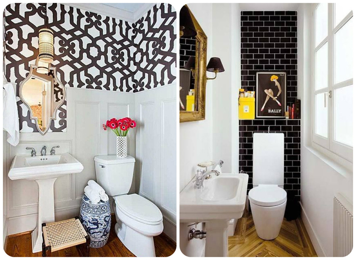 Decoração para banheiros pequenos  Comprando Meu Apê -> Decoracao Meu Banheiro