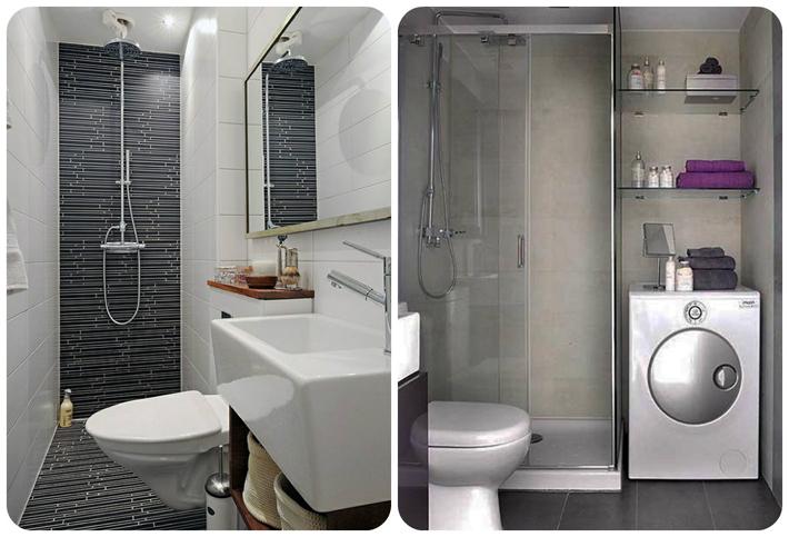 Decoração para banheiros pequenos  Comprando Meu Apê -> Decoracao De Banheiro Com Vaso Sanitario Preto