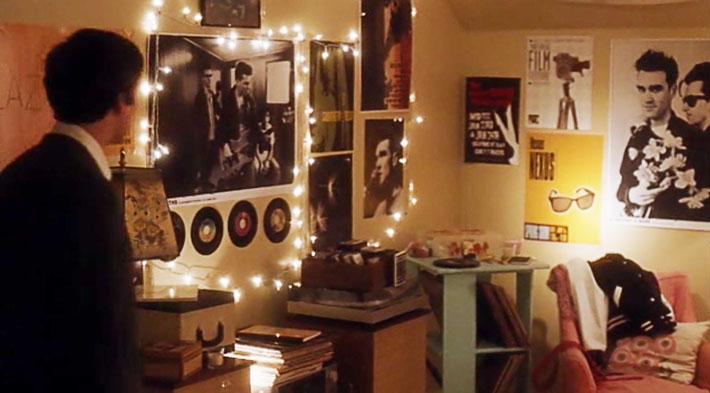 decoração do quarto da Sam do filme as vantagens de ser invisível