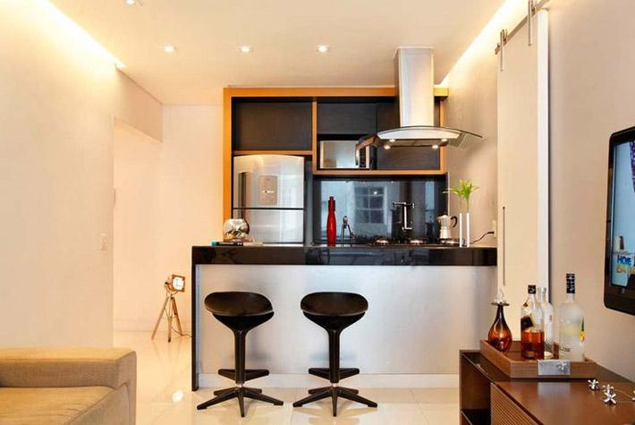 dicas para fazer uma cozinha americana comprando meu ap. Black Bedroom Furniture Sets. Home Design Ideas