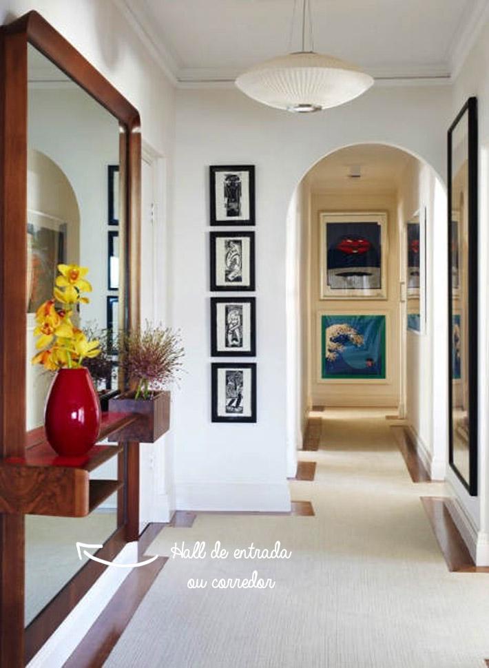 Dicas para decorar com espelhos comprando meu ap for Ideas para decorar pisos pequenos