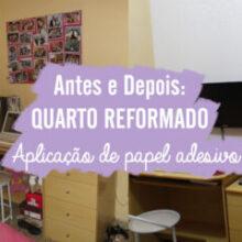 DIY: Como aplicar papel adesivo em paredes