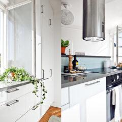 Apartamento pequeno: branco e alegre!