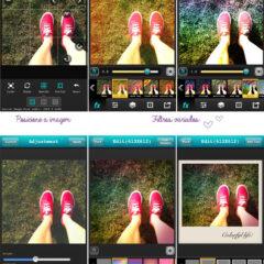 Fotografia: aplicativo Vintique