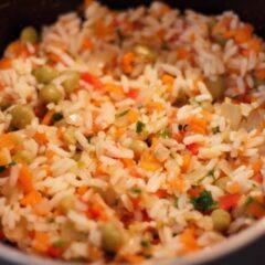 Culinária: incrementando o arroz