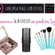 Concurso: viaje com estilo! by StyleHaul e Sigma Beauty