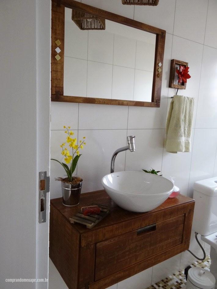 Apartamento da leitora Liete Sarti  Comprando Meu Apê -> Gabinete De Banheiro Etna