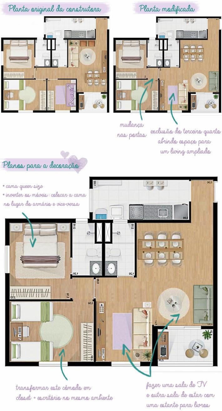 Closet com escrit rio home office juntos comprando meu ap for Closets para apartamentos pequenos
