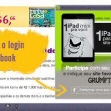 Promoção: iPad mini