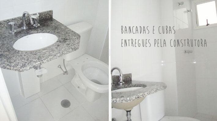 Tipos de cubas para o banheiro  Comprando Meu Apê -> Mesa Para Cuba Banheiro