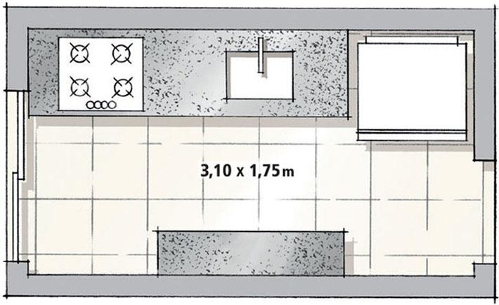 03-cozinha-em-estilo-corredor-tem-paredes-azuis