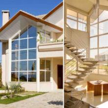 Vidros transparentes com proteção solar