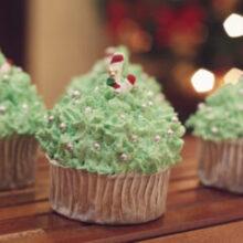 DIY: Cupcakes decorados de Natal