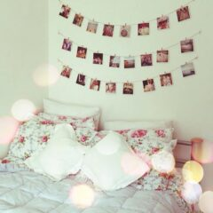 Decoração do quarto renovada com roupa de cama
