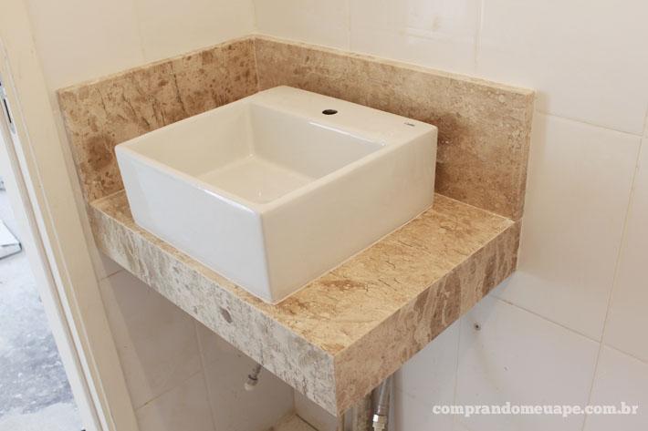 Tour pelo apê reforma #3 (suíte, closet, banheiro e gesso)  Comprando Meu A -> Pia Para Banheiro Celite