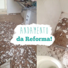 Meu apê: notícias da reforma