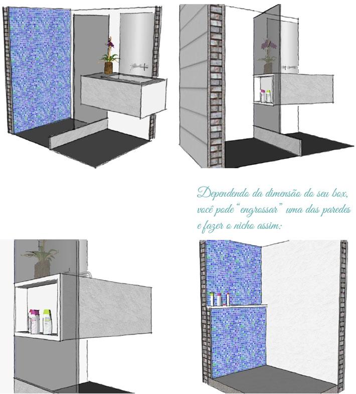Pergunte ao arquiteto #2 (Respostas)  Comprando Meu Apê # Nicho Banheiro Parede Estrutural