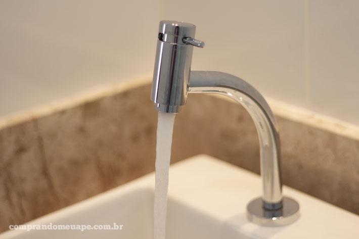Torneiras + ducha do meu apê!  Comprando Meu Apê -> Torneira Eletrica Para Pia De Banheiro
