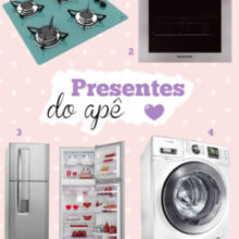 Presentes para o apê: eletrodomésticos!