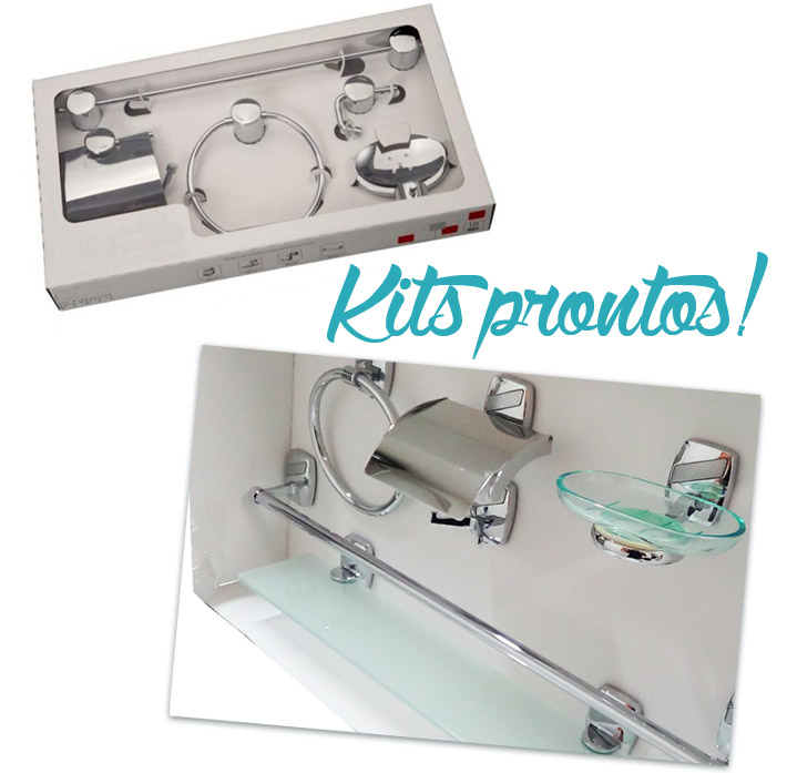 Onde encontrar acessórios de banheiro com preços bons?  Comprando Meu Ap -> Armario Para Banheiro Center Castilho