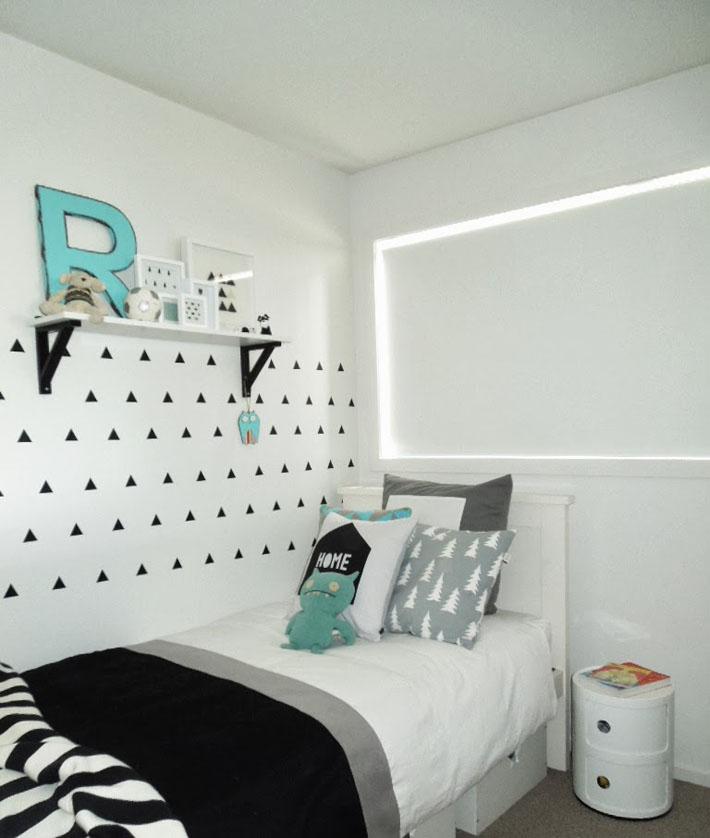 Inspiração quarto de solteiro preto e branco Comprando  ~ Quarto Verde Solteiro
