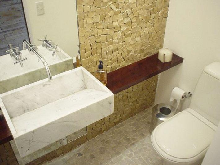 Minha bancada com cuba esculpida na pedra + Dicas  Comprando Meu Apê -> Cuba Banheiro Esculpida