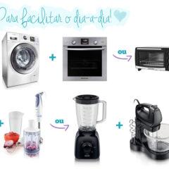 Lista de eletrodomésticos necessários para uma casa!