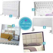 Cabeceiras de cama: pra fazer ou comprar!